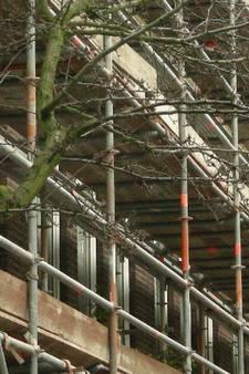 Brutale dieven stelen metershoge bouwsteigers in Rotterdam