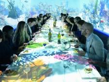 Glow als zesgangendiner bij Diner in Motion in Eindhoven