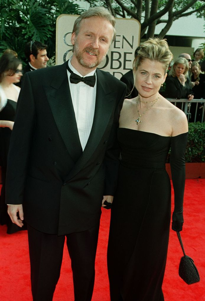 James Cameron et Linda Hamilton