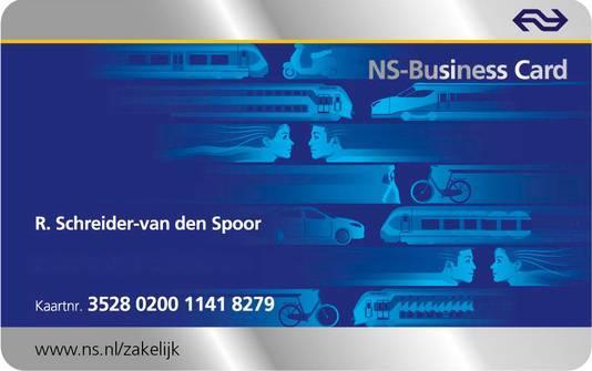 De zakelijke kaart van NS is in trek bij fraudeurs en er wordt voor tonnen misbruik van gemaakt.