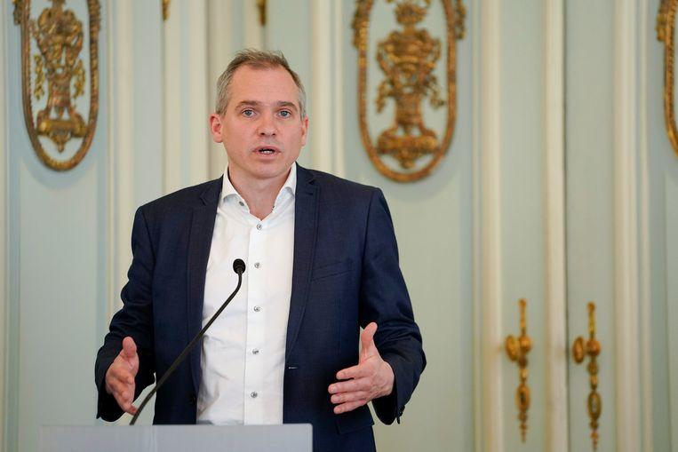 Vlaams minister van Wonen Matthias Diependaele.