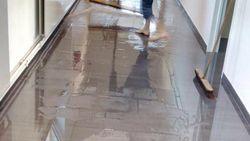'Vergeten kraantje' zet school blank: tot 10 centimeter water in klassen