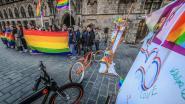 Vredesstad hijst regenboogvlag
