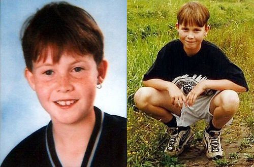 Archieffoto's van de elfjarige Nicky Verstappen, die in 1998 dood werd gevonden op de Brunssummerheide. Families van andere moordslachtoffers hopen dat hun zaak ook  een doorbraak krijgt.