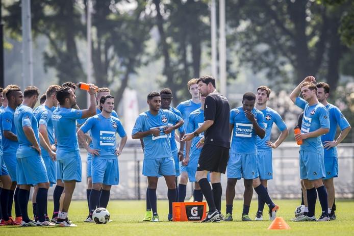 Eerste training Willem II>