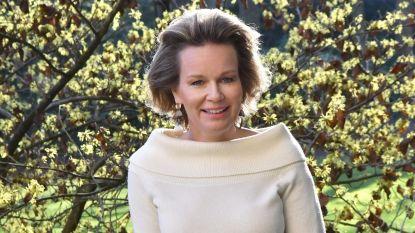 Jarige koningin Mathilde bedankt voor gelukswensen