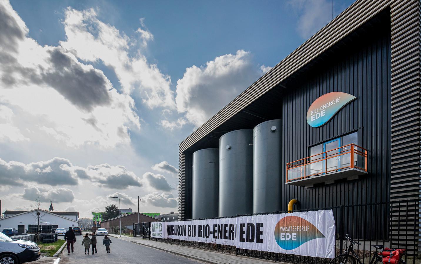De centrale van Warmtebedrijf Ede aan de Geerweg in Ede.