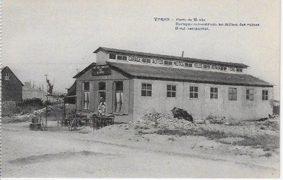 Het prille begin van Devos & Dewanckel: in Britse barakken vlakbij de Menenpoort.