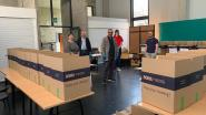 Moskee schenkt voedselpakketten voor 140 mensen