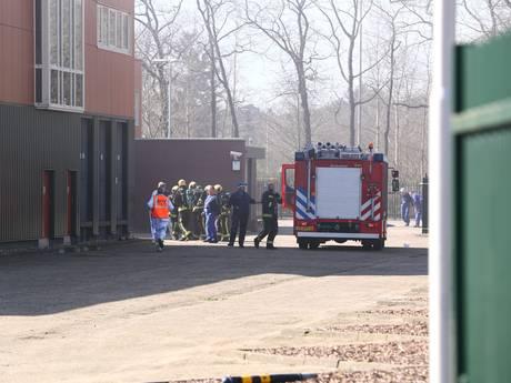 Grote brand bij Plukon in Wezep