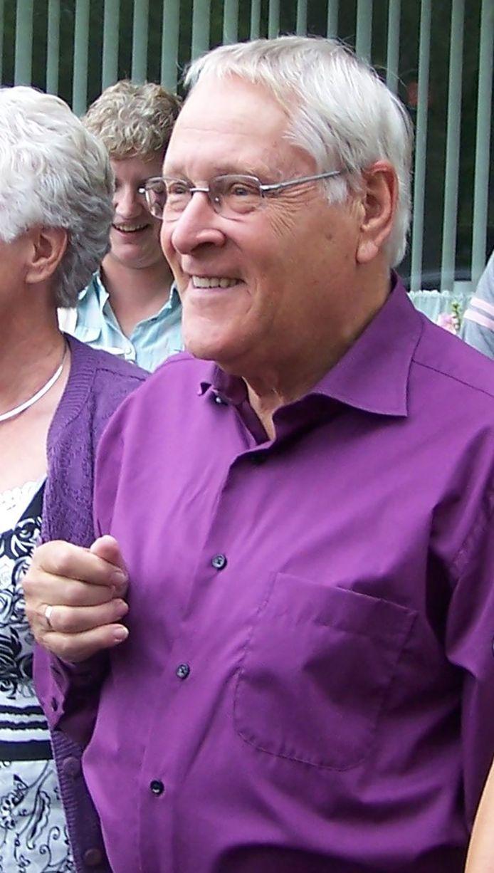 Foppe Witzel op zijn 50-jarig huwelijksfeest in 2008.