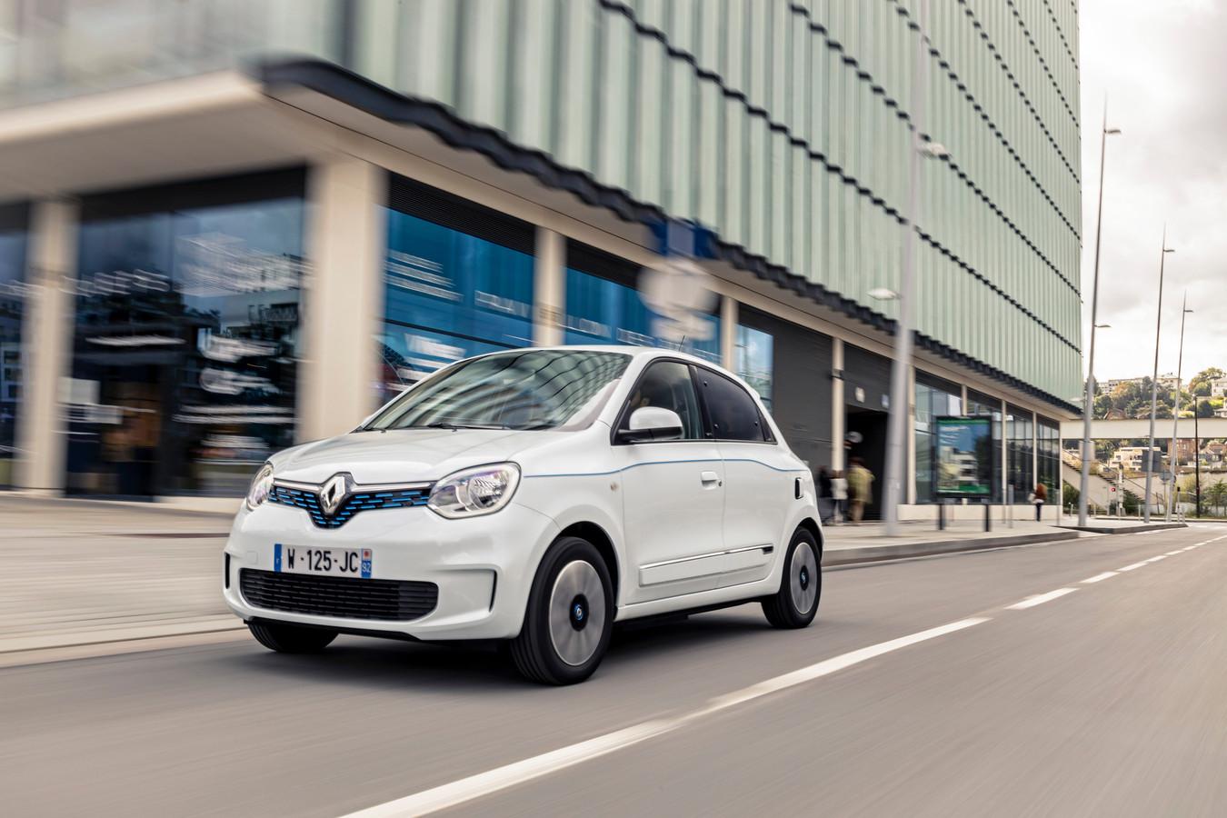 De elektrische Renault Twingo komt het verst in de stad en laadt het snelst in de stad.