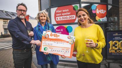 Gepensioneerde Oost-Vlaming wint 5 miljoen euro met Lotto-Jackpot
