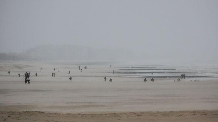 Oostende voorlopig alles rustig in Oostende storm Ciara