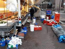Boos over opbreken van markt in Zeist, stormschade van 6000 euro