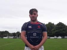 Rugbyer Noah de Wild revalideert in Goes