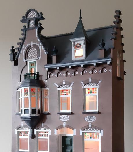 Gesloopte Villa Van Thiel in Helmond vereeuwigd in maquette