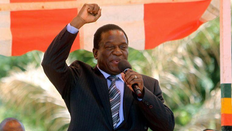 Emmerson Mnangagwa op 10 februari 2016 Beeld ap