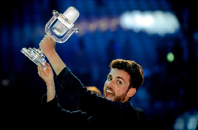 Duncan Laurence na zijn Songfestivalwinst