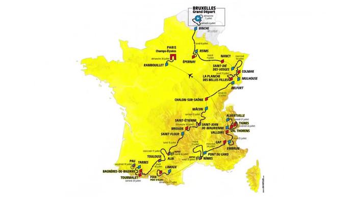 Tourparkoers 2019