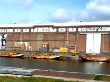 Machinefabriek wordt een drive-in bioscoop tijdens Film by the Sea