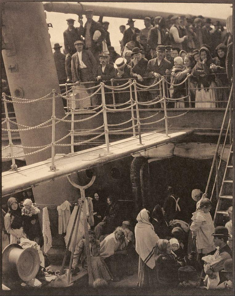 'The Steerage' (1907).  Beeld Alfred Stieglitz