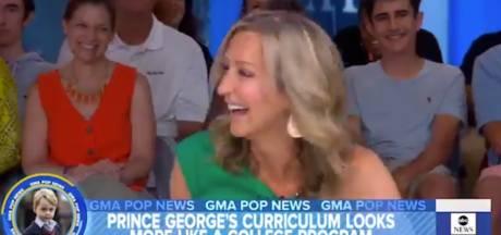Presentatrice maakt prins George (6) belachelijk vanwege balletlessen, kijkers woest