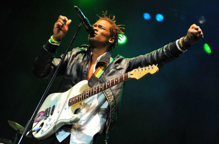 Kumar Bent van de reggaeband Raging Fyah Beeld Getty Images