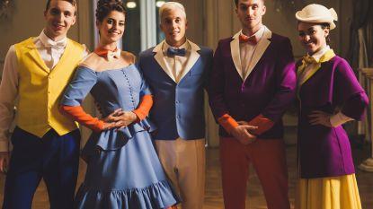 VIDEO. Loïc Nottet laat de Mary Poppins in zichzelf helemaal los