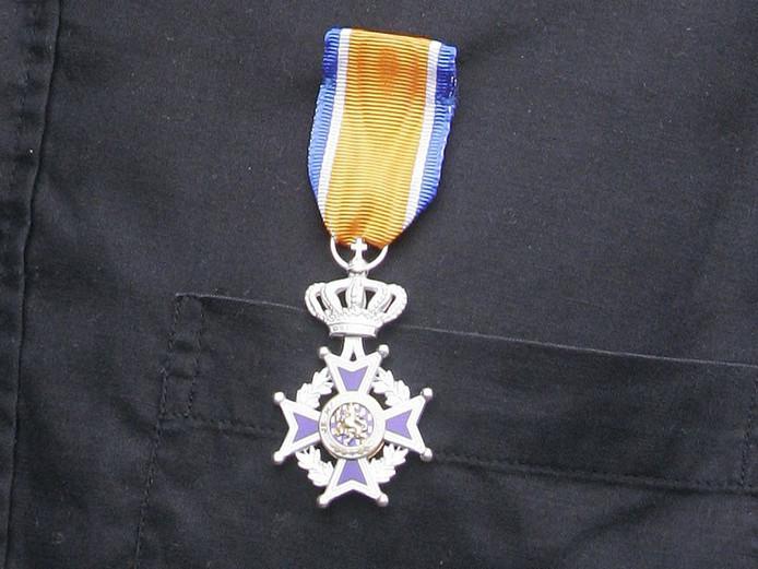 Nan Visser uit Schijndel is maandag koninklijk onderscheiden.