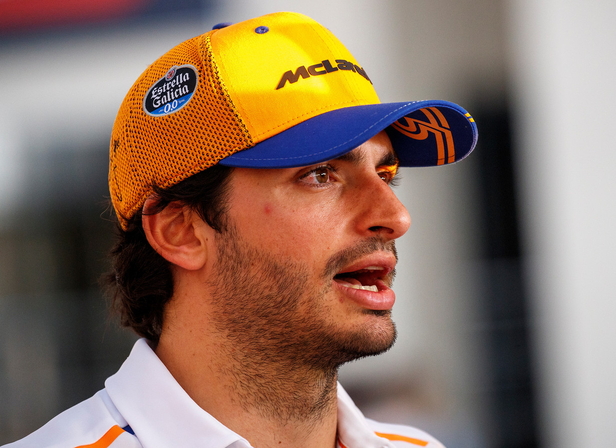 Carlos Sainz, de nieuwe coureur van Ferrari.