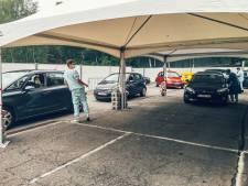 """Le CHU de Liège relance son service """"Depist Car"""", le dépistage en mode """"drive-in"""""""