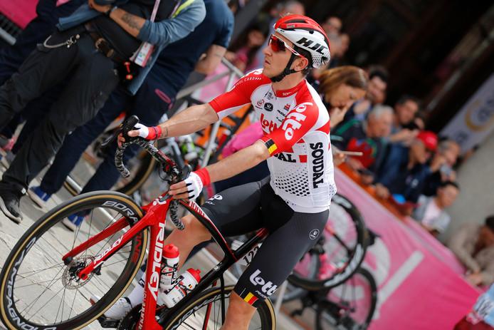 Jasper De Buyst jette l'éponge, quatrième abandon pour l'équipe Lotto-Soudal depuis le départ du Giro.