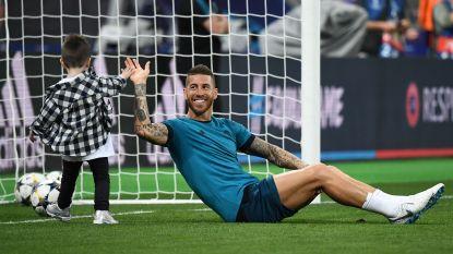 IN BEELD: Veel lachende gezichten daags voor Champions League-finale