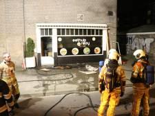 Brand in Eethuis Nilay mogelijk aangestoken
