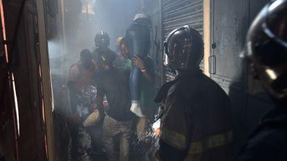 Tweede markt in een week tijd brandt af in Port-au-Prince
