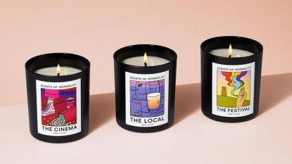 De geur van vroeger: deze kaarsen ruiken naar jouw favoriete festival, bar of bioscoop