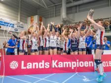 Nationale volleybaltitel voor Sliedrecht Sport heeft een Twents randje
