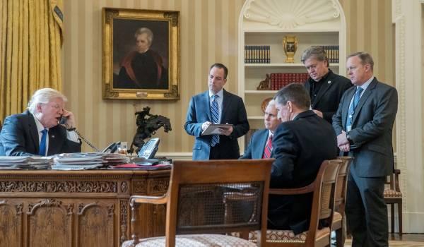 Gaat Trump nog bellen met Bannon?