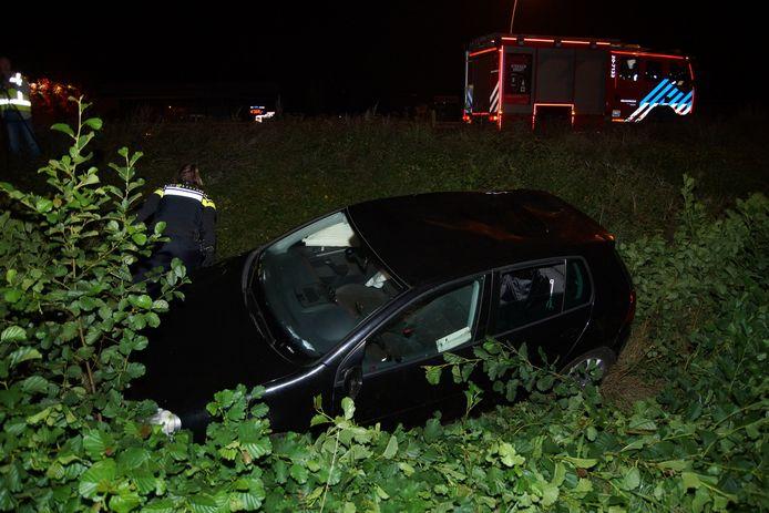 Ongeluk op Midden-Brabantweg in Waalwijk
