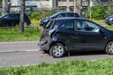 Ongeluk op Nieuwe Kadijk Breda