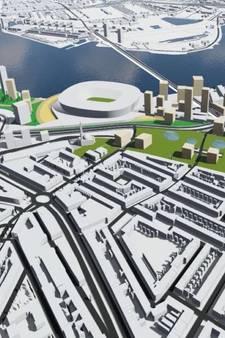 Feijenoord XL wil 8.000 huizen op Zuid én nieuwe brug