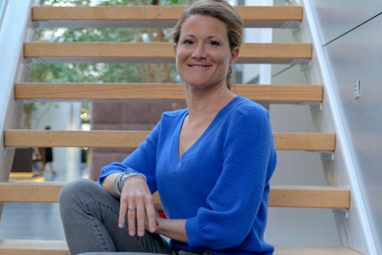 Anneleen Van Bossuyt, de Oost-Vlaamse lijsttrekker voor de Kamer.