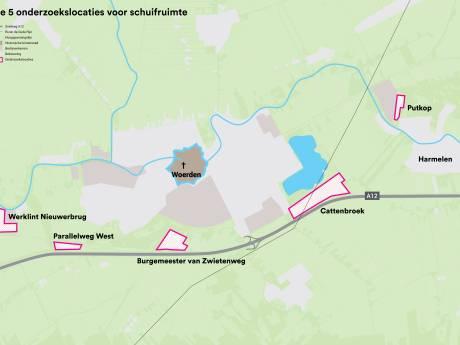 Deze locaties zijn het meest geschikt voor nieuwe bedrijventerreinen in Woerden