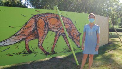 Rumst stelt werk van jong en gevestigd graffititalent tentoon