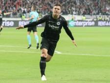 Eintracht Frankfurt ontkent contact met Real Madrid over Jovic