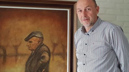 Leerling Marnix De Vleesschauwer toont dit weekend werken van 'meester' Robert Kintziger