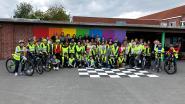 Leerlingen leggen succesvol fietsexamen af