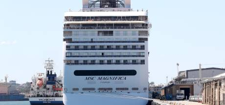 Dit cruiseschip kan na zes weken eindelijk aanmeren, niemand aan boord is besmet