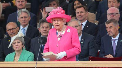 Britse koningin dankt de D-Day-veteranen voor hun geest en vastberadenheid